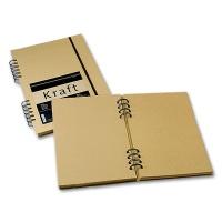 Skizzenbuch Kraftpapier ocker A5 hoch