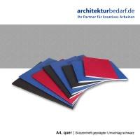Skizzenheft 120 g/m² 36 Seiten, A5 quer