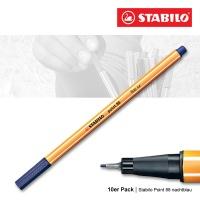 Stabilo Point 88 nachtblau - 10er Pack
