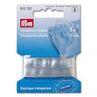 Elastic Strap, transparent Elastic, 10mm