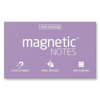 Magnetic Notes lila 100 x 70 mm