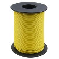 Kupferschaltlitze 100 m Rolle gelb