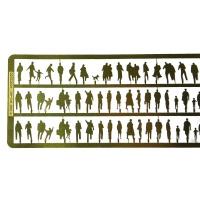 Silhouettenfiguren 1:200 159 Stück