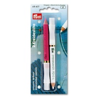 Chalk Pencils with Erasing Brush white / pink