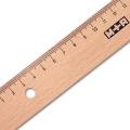 Wooden Ruler, Beech, 20 cm