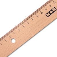 Holzlineal Buche 20 cm