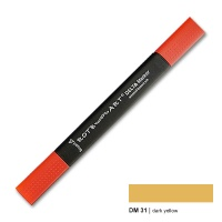 Delta Marker dark yellow 31