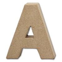 Letter Papier Mâché - A