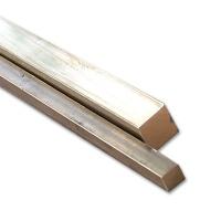 Brass Rectangular Profile 2,5 x 2,5 mm