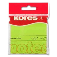 Sticky Notes Kores neon green
