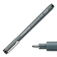 Pigment Liner 308 - black 0,6 mm