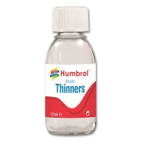 Paint Thinner for Acrylic Paint, 125 ml Bottle