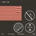Mauerplatte geprägt 1:100/1:87