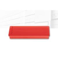 magnetoplan Rechteckmagnet, rot