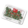 Alco Map Pins 8 mm dark green
