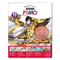 FIMO Blattmetall Kupfer, 10 Blatt