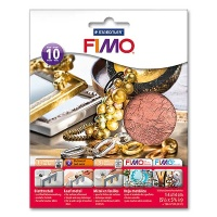Fimo Leaf Metal Copper, 10 Sheets