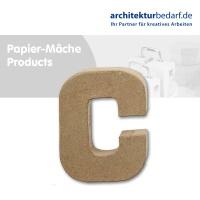 Buchstabe Papier-Mâché - C