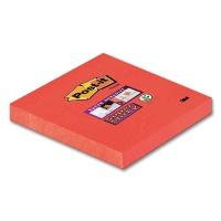 Post-it Sticky Notes 654, Orange-Red, 76 x 76 mm