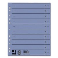 Dividers A4 Overwidth, blue