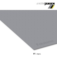 Fotokarton 300g/m²  70 x 100 cm, 87 altgrau