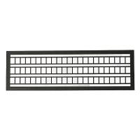 Leitern 5 x 102 mm dunkelgrau
