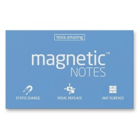 Magnetic Notes blau 100 x 70 mm