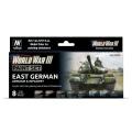 Model Color Set: East German Armour & Infantery