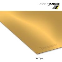 Tonzeichenpapier 70 x 100 cm, 98 gold