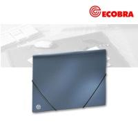 Sammelmappe A4 blau-metallic