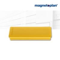 magnetoplan Rechteckmagnet, gelb