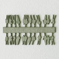 Figures, 1:250, light green