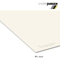 Tonzeichenpapier 130g/m² DIN A4, 01 altweiß