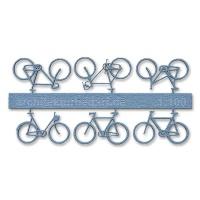 Bicycles, 1:100, lightblue
