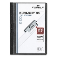 Clip Folder Duraclip 30 - A4 black