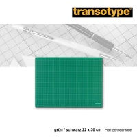 Transotype Profi Schneidmatte 22 x 30 cm