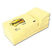 Post-it Haftnotizblöcke gelb 76 x 76 mm