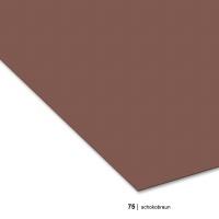 Tonzeichenpapier DIN A3, 75 schokobraun
