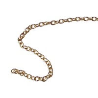 Brass Chain 0,3 mm