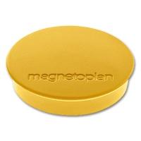magnetoplan Discofix Rundmagnete standard, gelb