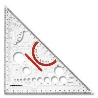Techno-Dreieck Metall aus Makrolon