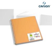 Skizzenbuch Canson Notes, orange 18,5 x 18,5 cm