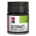 Decormatt Acrylic matt - No. 073 black