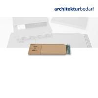 Buchverpackung A5 braun/braun