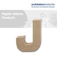 Buchstabe Papier-Mâché - J