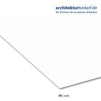 Fotokarton 70 x 100 cm, 00 weiß