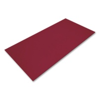 Acrylic Glass Precision transparent dark red