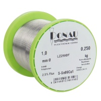 Solder Wire 1 mm, lead-free, 250 g