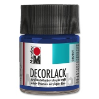 Decorlack Acrylic glossy - No. 052 medium blue