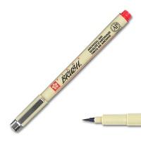 Pigma Brush, Brush Marker red